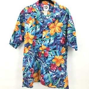 Hilo Hattie Hawaiian Shirt Aloha Bright